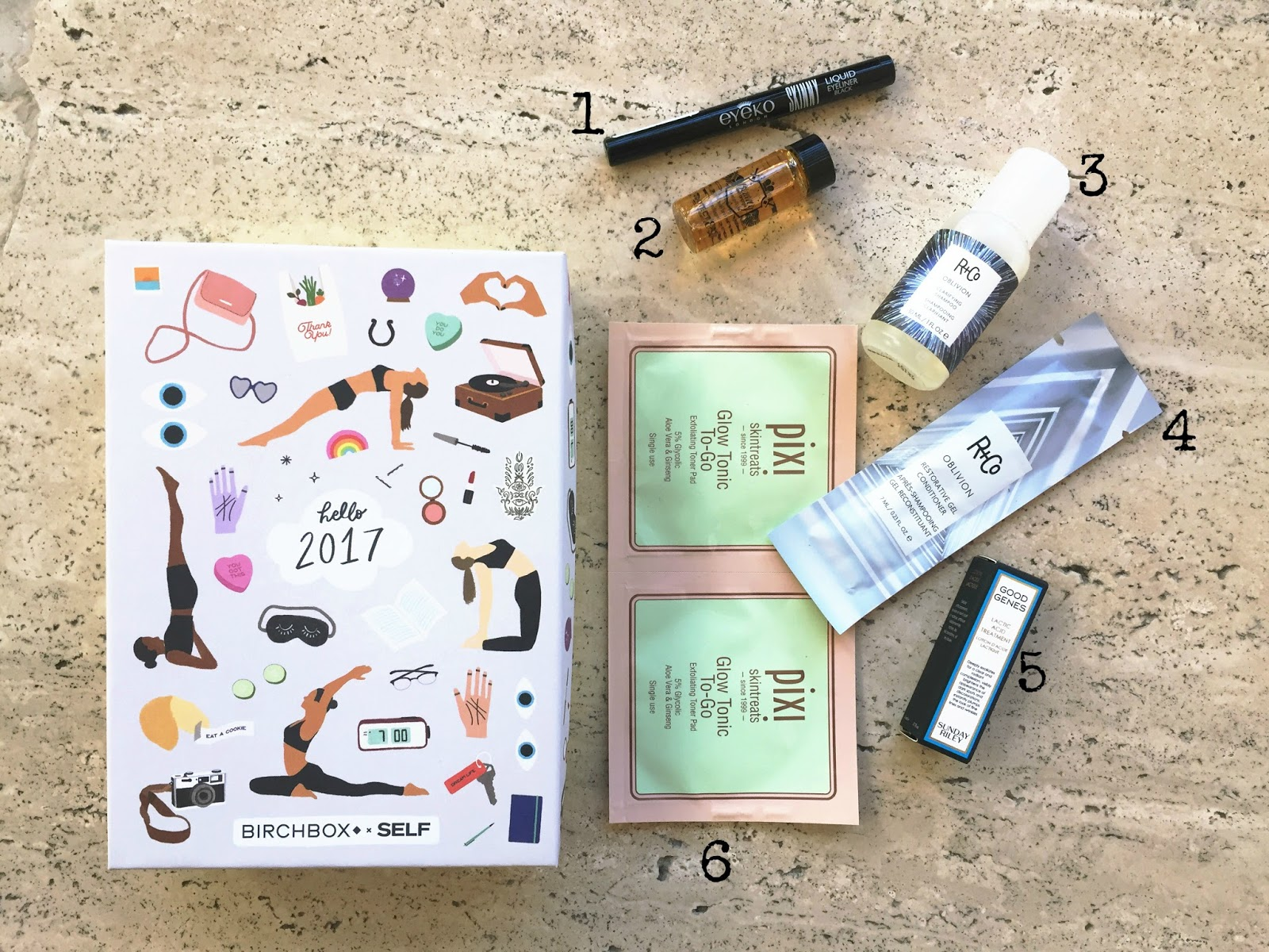 January 2017 Birchbox