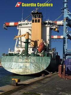 Guardia Costiera - Nave Detenuta nel Porto di Napoli