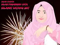 Selamat Tahun Baru 2017 Untuk Arafah Rianti