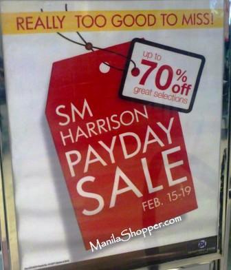 d6f08f25792a SM Harrison   SM Center Valenzuela SALE