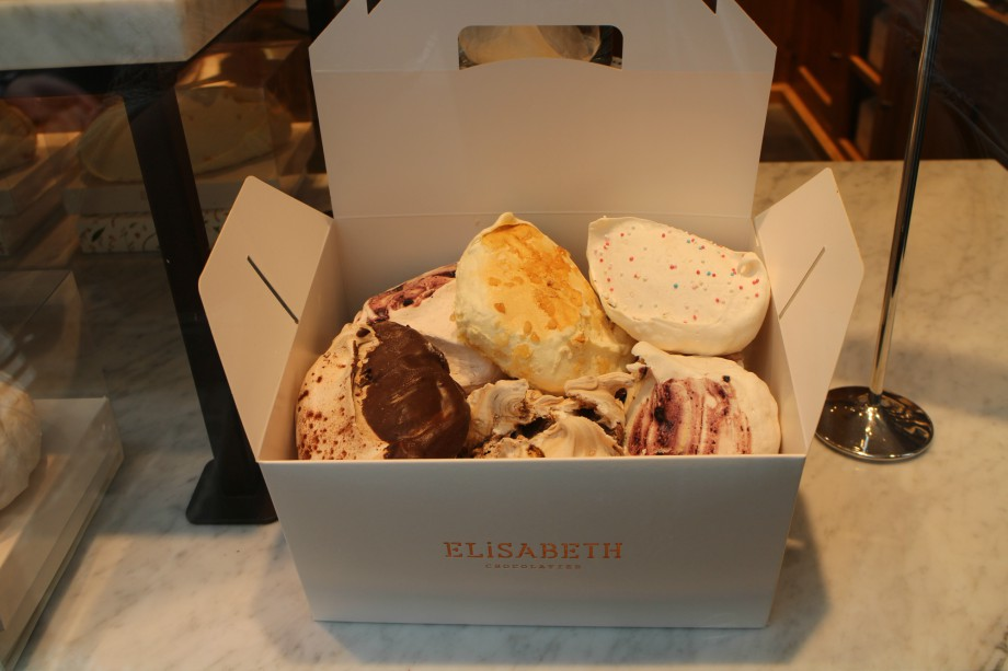 elisabeth, chocolateria, bruselas, merengues