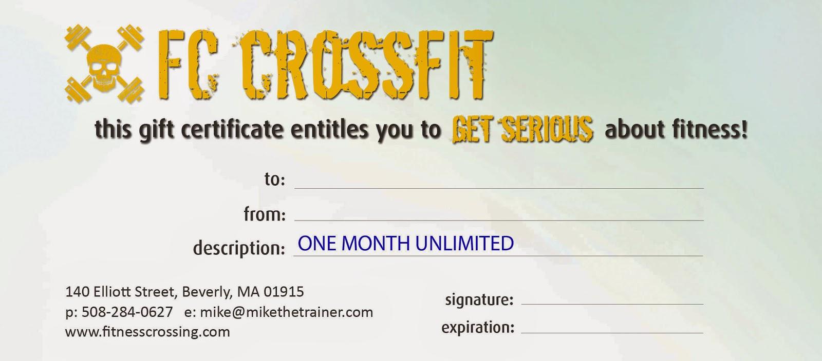 Gym Membership Card Template