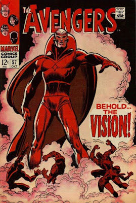 Avengers #57, the Vision