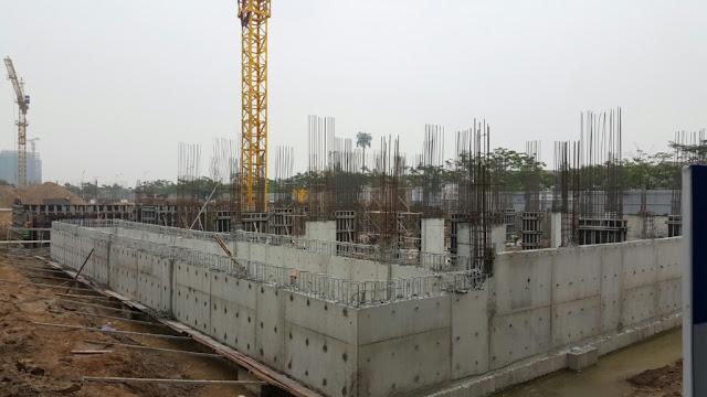 Tiến độ xây dựng chung cư Anland