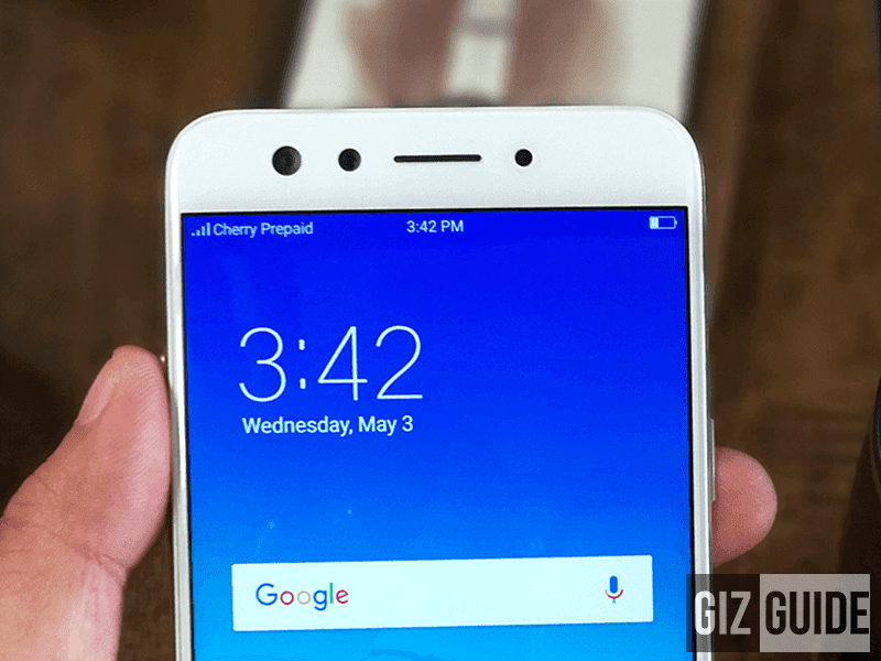 A closer look at the OPPO F3
