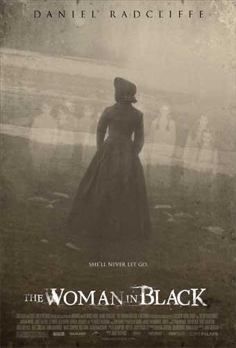 Poster do filme A Mulher de Negro