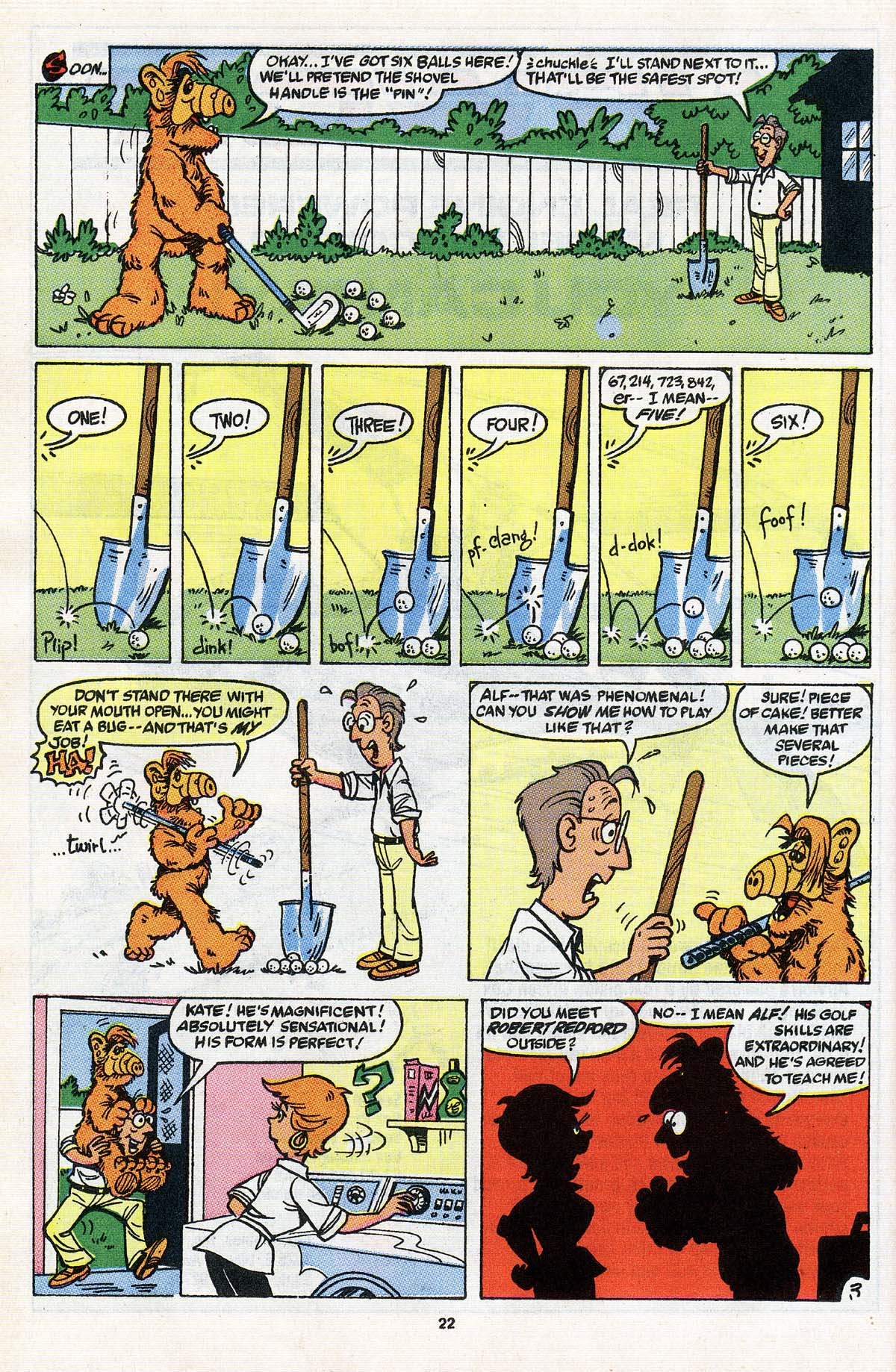 Read online ALF comic -  Issue # _Annual 3 - 20