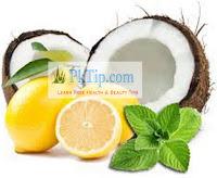 Coconut Oil And Lemon Massage For Dandruff