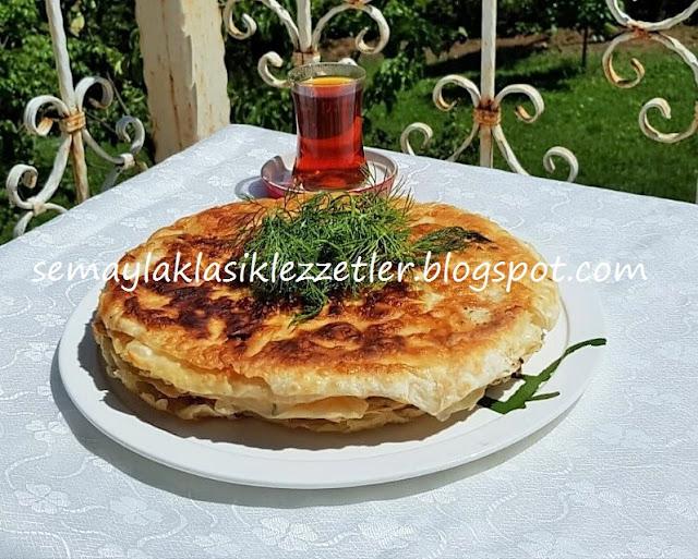 Kuru El Yufkasından Çıtır Tava Böreği