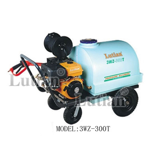 Máy phun rửa chạy bằng xăng có buồn chứa nước 300L- 15HP 3WZ-300T