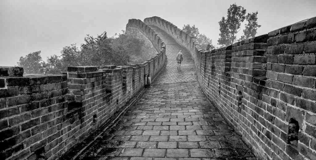 Tranquilidad en la Gran Muralla China