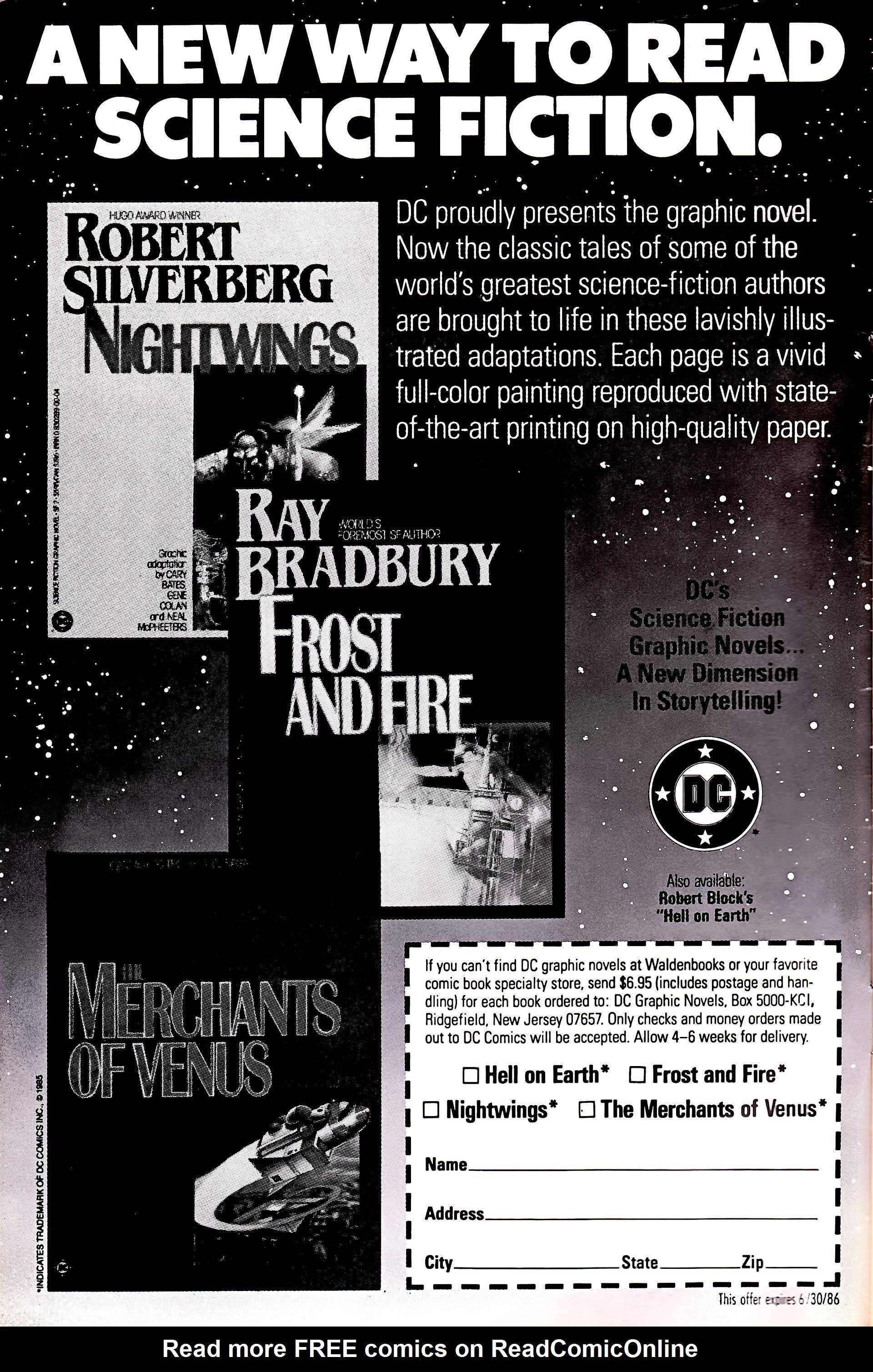 Read online Secret Origins (1986) comic -  Issue #3 - 2