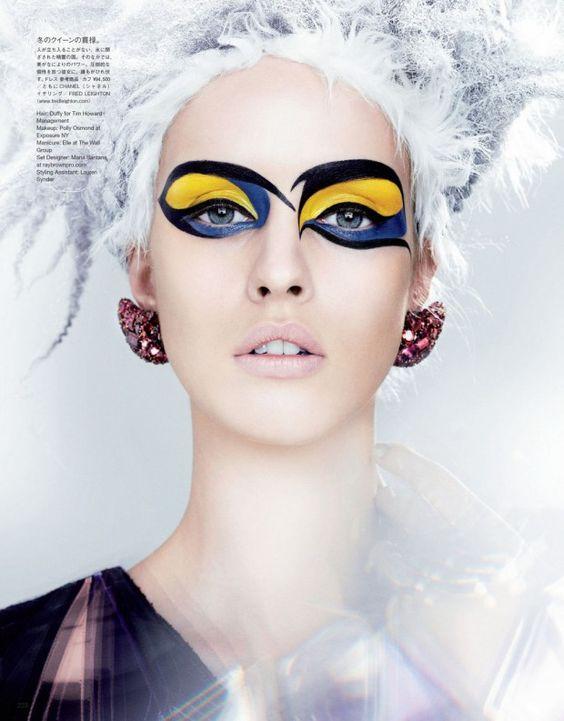 Maquiagem para o Carnaval 2017, foto revista de moda