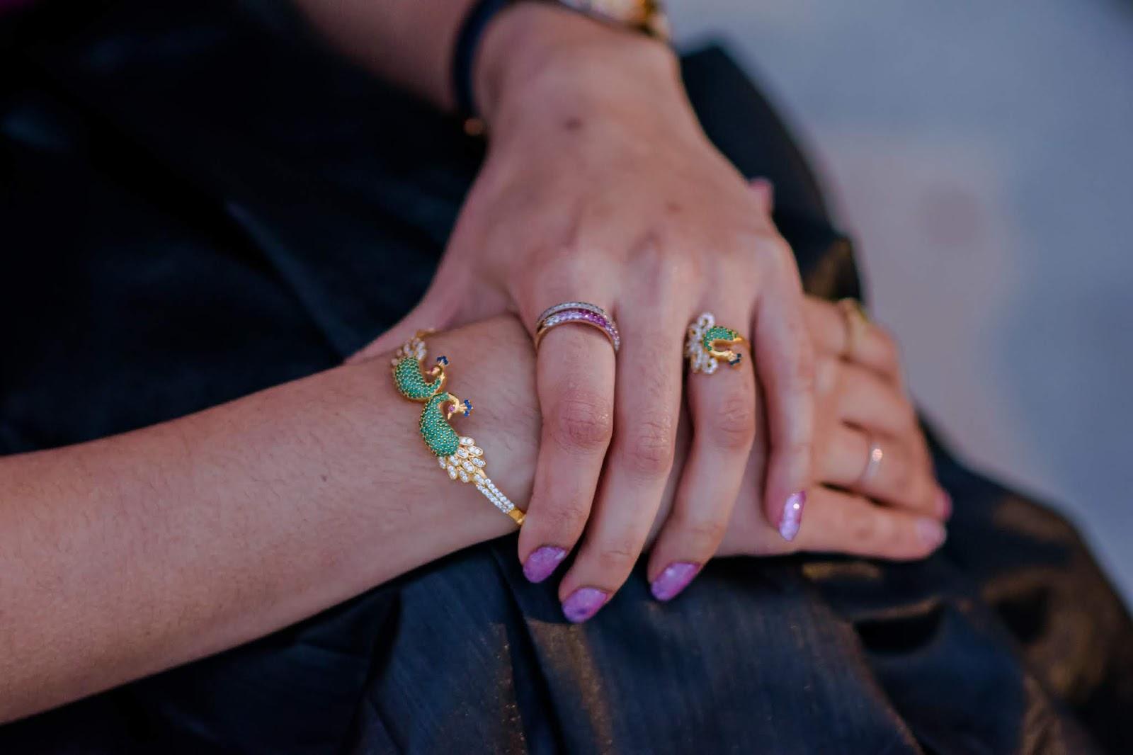 My Eternal Love for Saree - Diwali 2018; Aim for Glam; Indian Jewelry;Prasanthi Kadiyala;Saree Love; Diwali; Indian Fashion blogger; South Indian Fashion blogger; South Indian; Saree Lover;