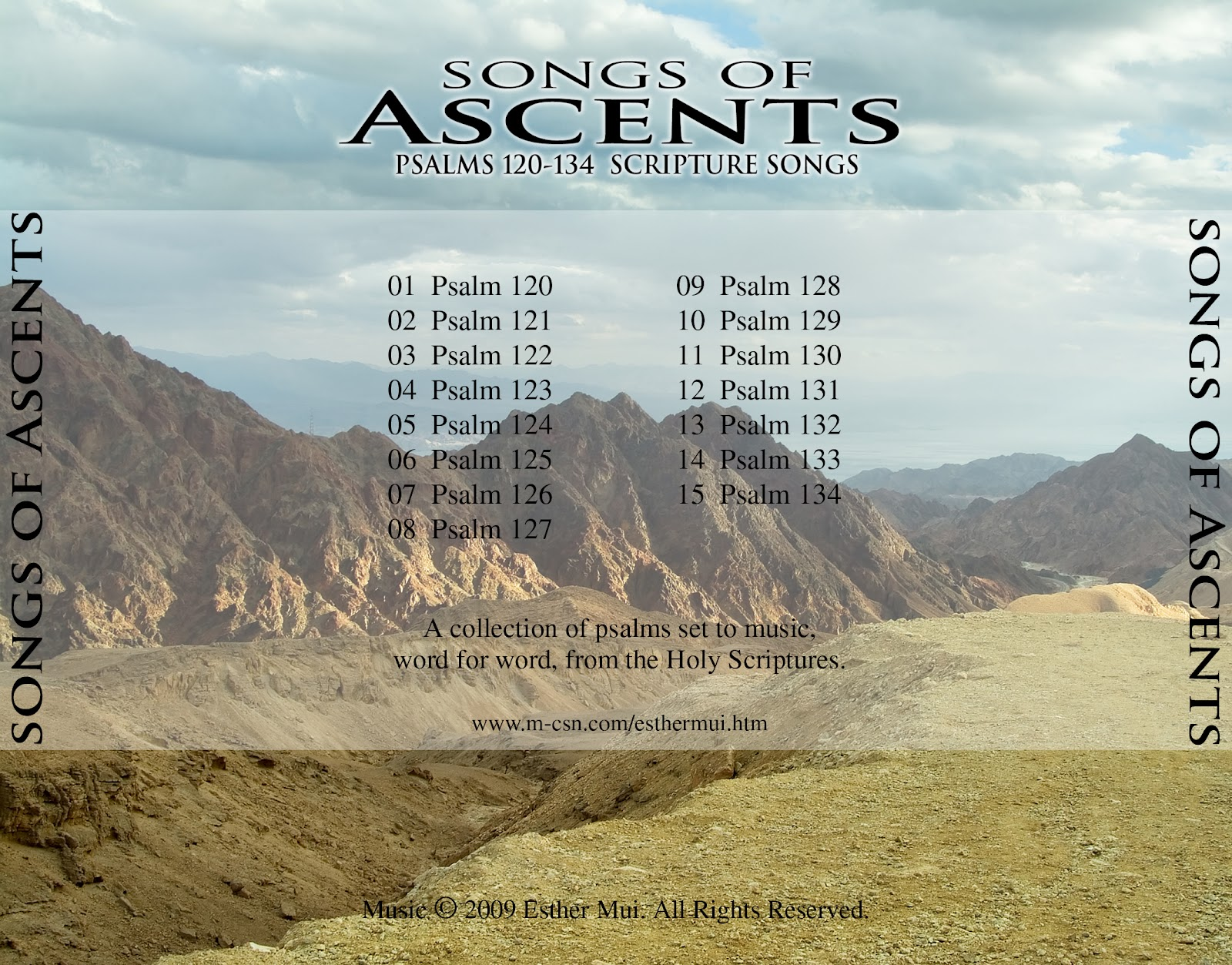 Scripture Songs for Worship : Songs of Ascents