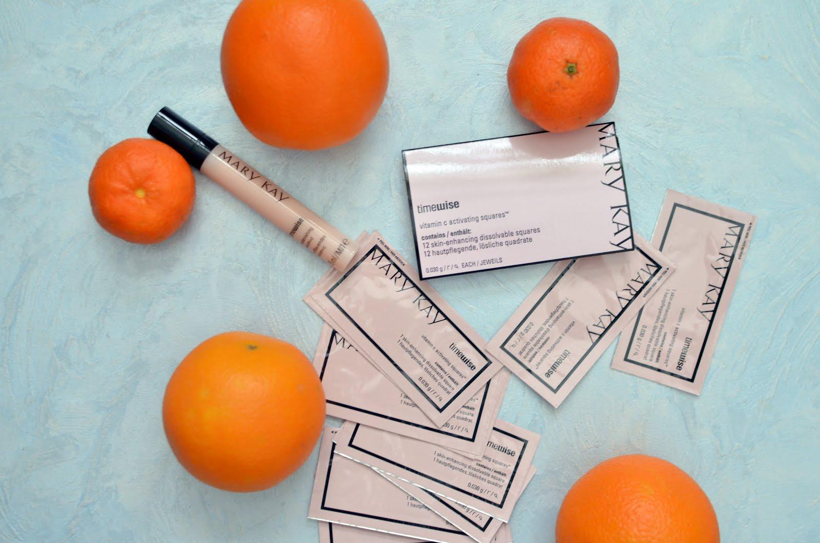 Марафон MARY KAY. TimeWise Vitamin C Activating Squares Растворимые полоски с витамином С