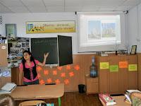 бібліотекар розповідає кадетам про Софію Київську
