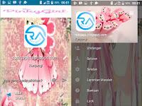BBM Mod Pinky Girl Apk Terbaru 2016 Gratis