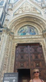Acceso a la cúpula de Brunelleschi.