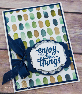 Enjoy The Little Things Card for Any Occasion