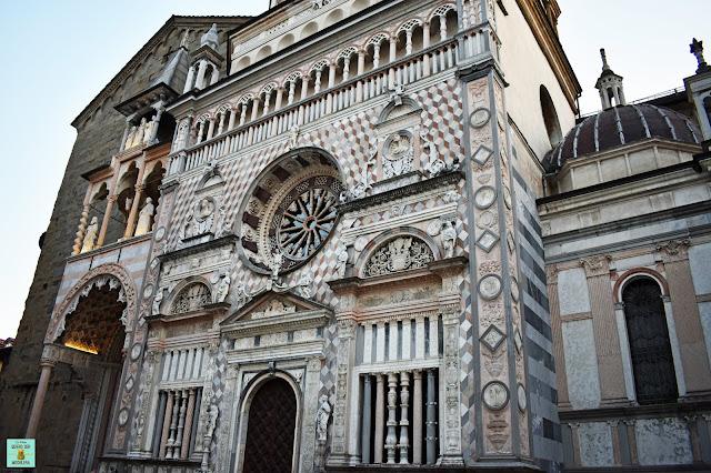 Basílica de Santa Maria Maggiore en Bergamo