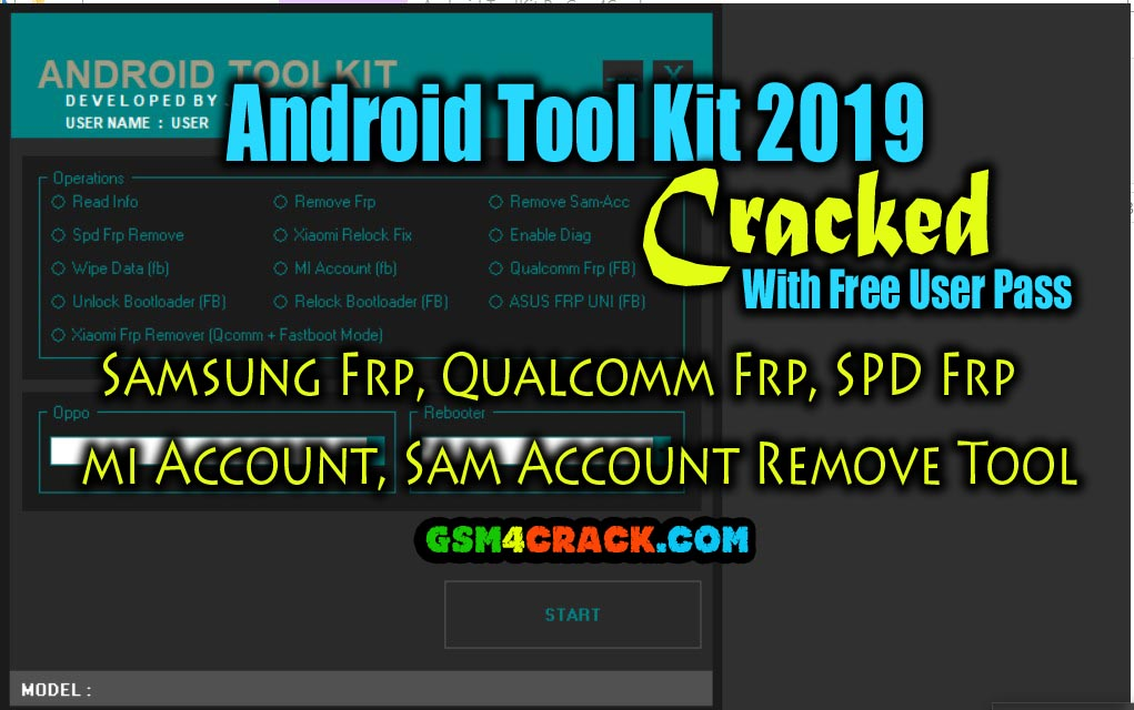 Android Tool Kit 2019 I Samsung Frp, Qualcomm Frp, SPD Frp