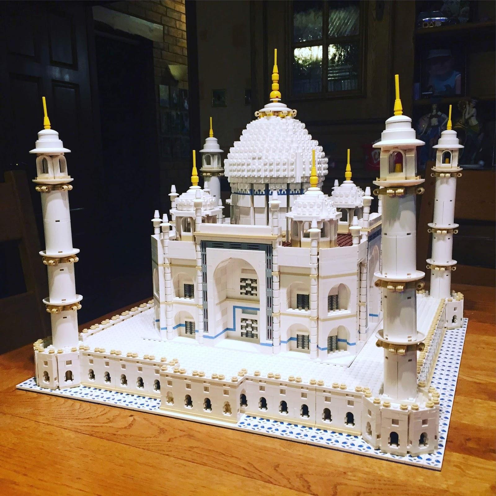 Building Lego Taj Mahal 10189 | Morgan's Milieu