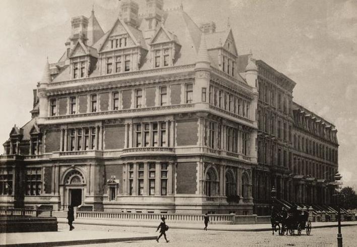The Gilded Age Era The Cornelius Vanderbilt Ii Mansion