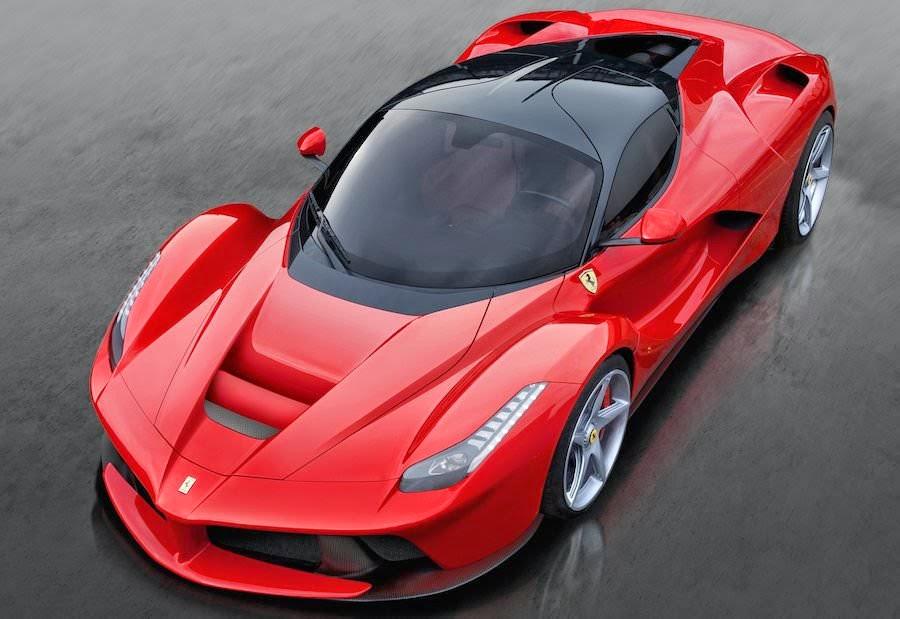世界一高い価格の高級車 ラ・フェラーリ