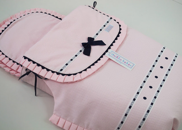 funda capazo peg perego rosa marino