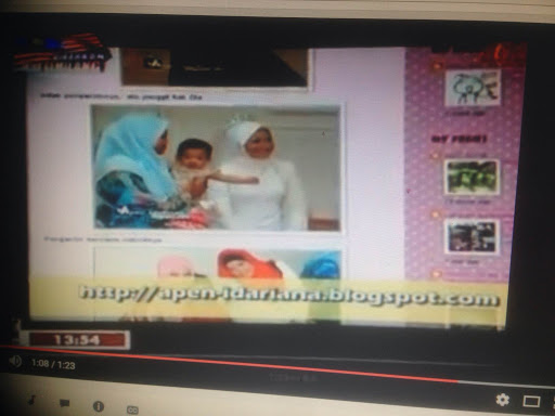 Featured In Rancangan Apa Kata Wanita Zamzarina TV1