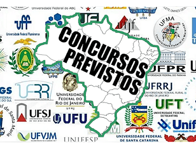 concursos institutos federais