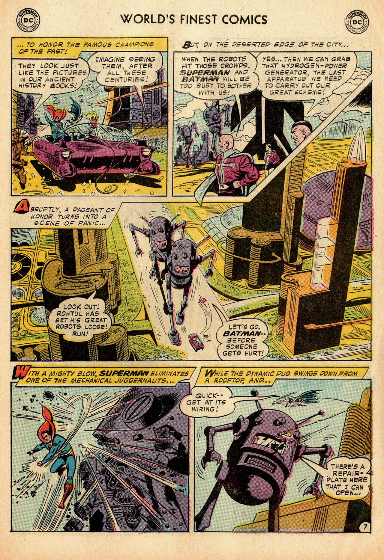 Read online World's Finest Comics comic -  Issue #91 - 9