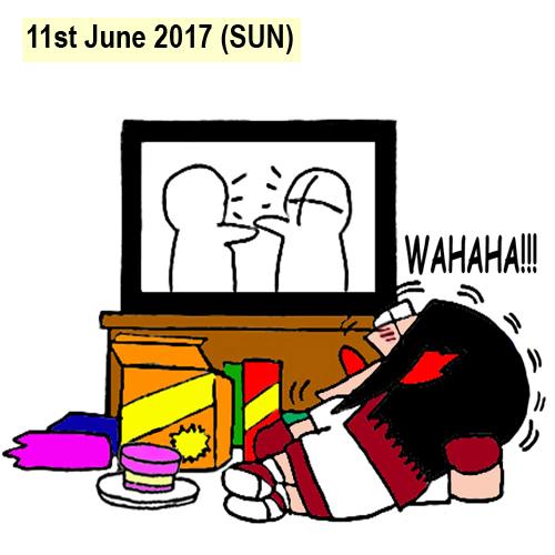 Hari Raya, Malaysia Long Holiday comic