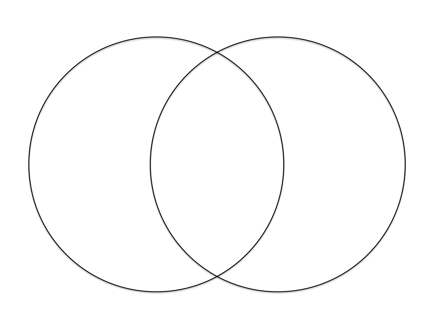 Search Results For Printable Venn Diagram With Lines