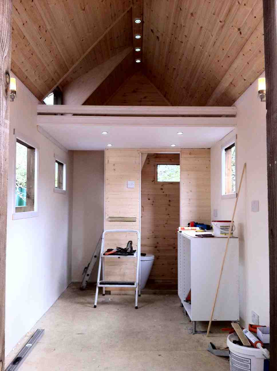 Shedworking Tiny House School Launched In Uk