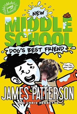 Middle School Dog's Best Friend by James Patterson Cover Book Club January 2017