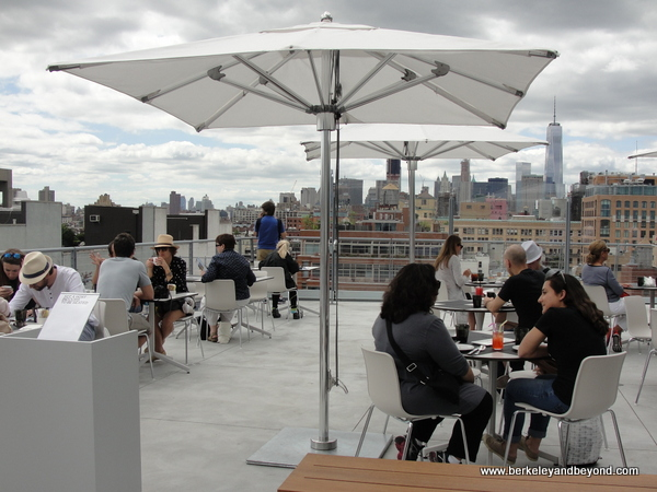 Studio Cafe at new Whitney Museum of American Art in NYC