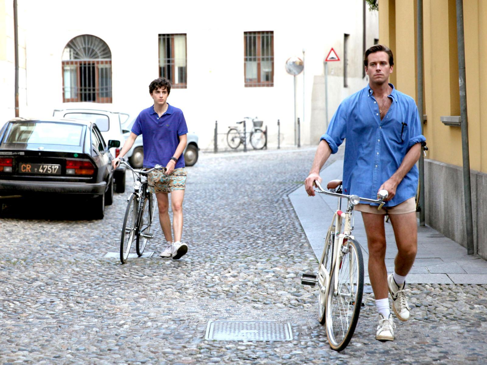 CALL ME BY YOUR NAME - Timothée Chalamet y Armie Hammer