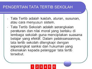 Tata Tertib Guru SD, Tata Tertib Guru SMP, Tata Tertib Guru SMA maupun Tata Tertib Siswa SD, Tata Tertib Siswa SMP, Tata Tertib Siswa SMA.