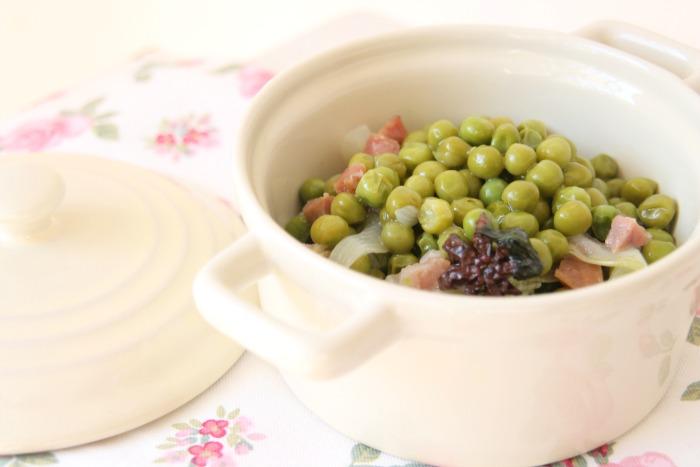 y tan flamenca!: receta: guisantes de primavera