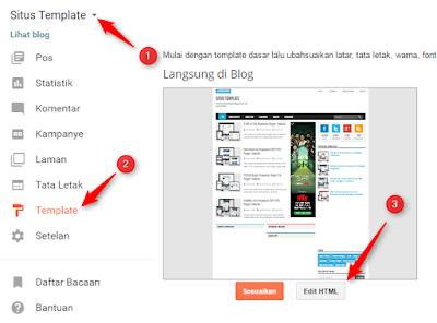 Cara Memasang Template Blogger Dengan Mudah