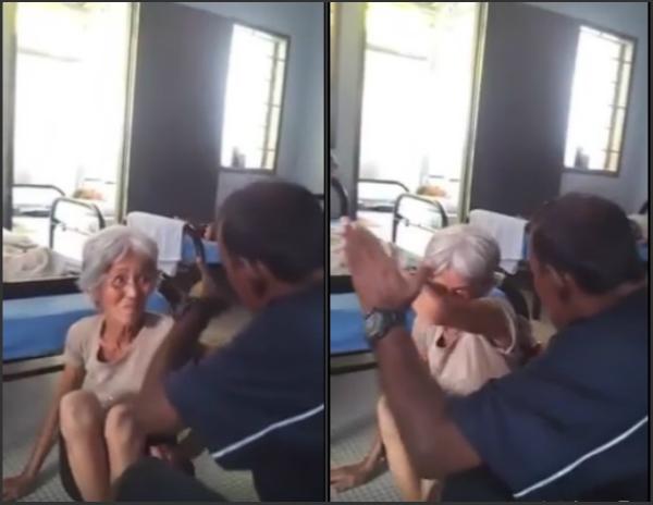 (Video) Warga emas dipukul pemilik pusat jagaan orang tua