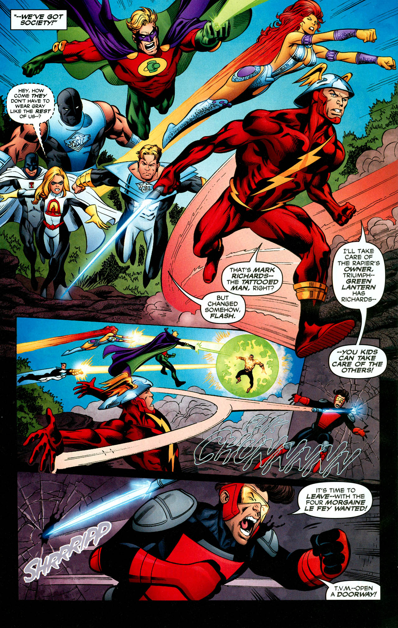Read online Trinity (2008) comic -  Issue #28 - 24