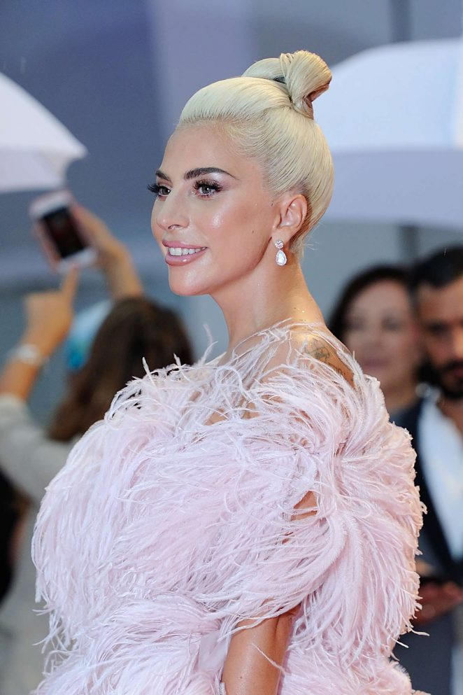 "Lady Gaga at ""A Star Is Born"" Premiere"