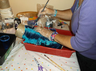Creative Textiles Course - Fabric Dyeing - St Ives Cornwall
