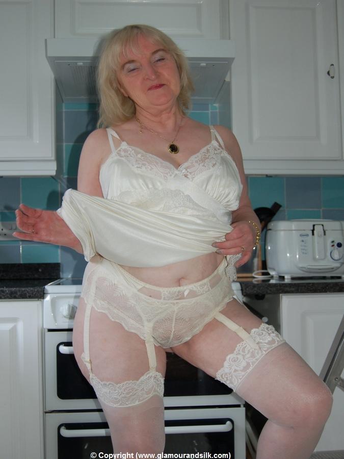 Granny In Kitchen Porn