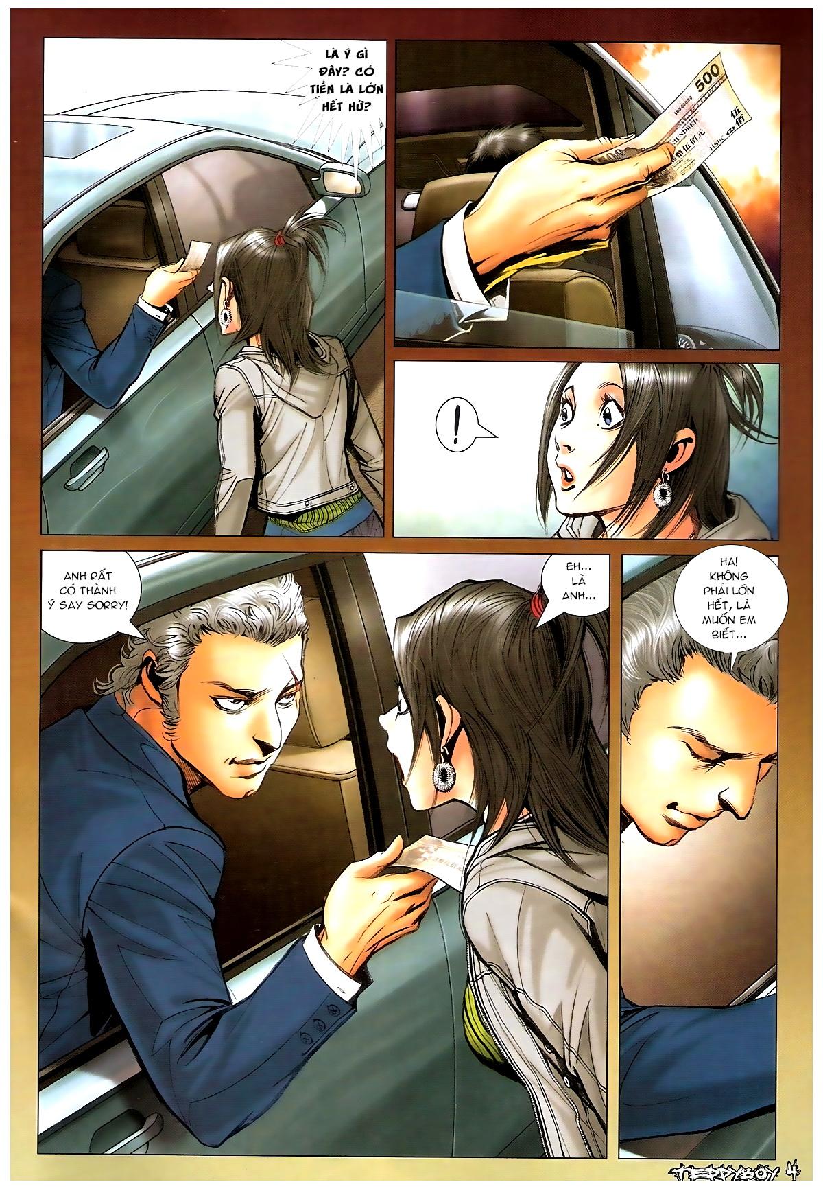 Người Trong Giang Hồ - Chapter 1369: Mê trai gặp Sở Khanh - Pic 3