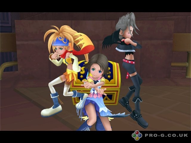 Kingdom Hearts II PS2 GAME ISO Screenshot 2