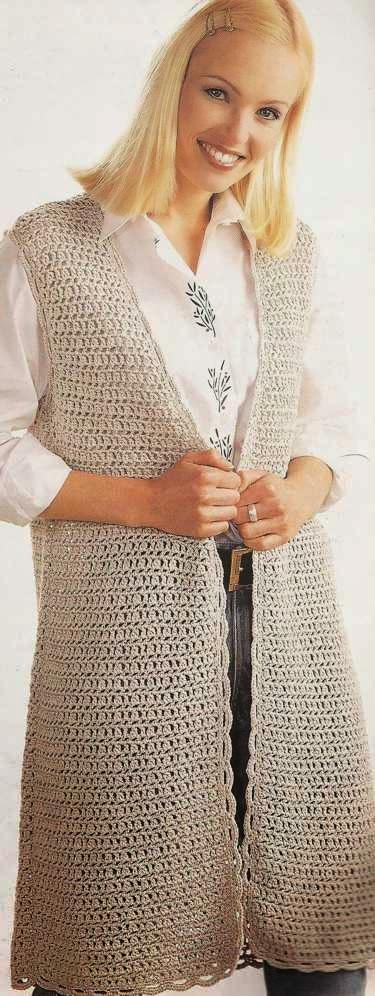 Guardapolvos a Crochet